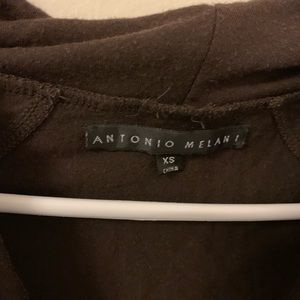 ANTONIO MELANI Tops - Antonio Melani Brown Blouse Size X Small